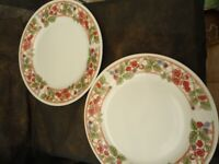 2 x Dinner Plates by Rayware