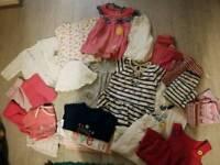 6-9 months baby girls bundle
