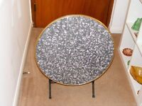 Vintage Patio/Occasional Folding Table