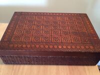 Intricately carved box