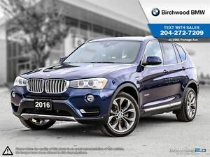 2016 BMW X3 xDrive28i Not Rental! Local Car! Premium Package E
