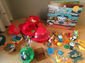 Octonauts gups /bundle lovely condition