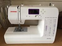 Janome 8050XL Sewing Machine (As new - Used once)