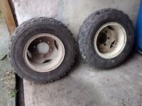 wheels/tyres/trailers