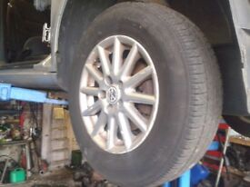 Alloy Wheels with tyres - 14inch - Volkswagen Golf 175/80 R14