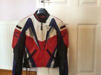 Dainese lady's leather motorcycle jacket