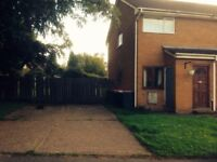 2 Bed Ground Floor Flat with large private Garden and Parking To Let in Leegomery
