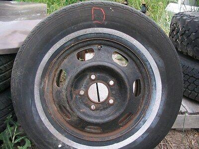 67 68 69 TORONADO ELDORADO OEM  pair disc brake wheels 1967 1968 1969 NO RESERVE