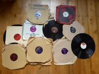 Vinyl Records 78s Bundle Joblot