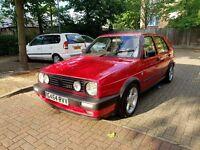 Volkswagen Golf 1.8 GTI MK2 8v 1990 reg Big Bumpers Mint Condition 1 Year MOT FSH Px Welcome