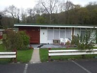 2 x bedroom chalet, New Quay, West Wales. Currently used as rental and has been for years.
