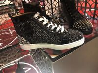 Christian Louboutin black high top