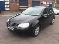 2005(54) VOLKSWAGEN GOLF S SDI 2.0 TURBO DIESEL 75 BHP FULL SERVICE HISTORY INCLUDES CAMBELT