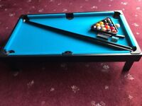 Table Top Snooker Table