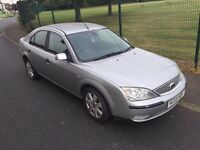 2005 Ford Mondeo 1.8 Silver 5dr HPI CLEAR,DRIVES WITHOUT FAULT,MOT SEP 2017