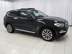 2018 BMW X3 HURRY!! DON'T MISS OUT!! 30i x-DRIVE AWD SUV w/ HE