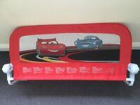 Bed guard (Lightning McQueen/cars)