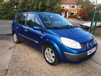 2005 Renault grand scenic 1.6 1 years mot