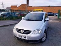 VOLKSWAGEN FOX 1.2 (2008) 3dr *** CHEAP INSURANCE-FREE DELIVERY-BARGAIN***