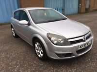(55) Vauxhall ASTRA sxi 1.7 cdti , mot - Feb 2018 , only 74,000 miles,full service history,focus