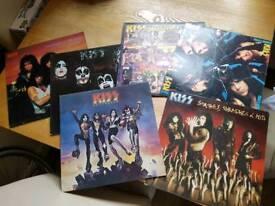 5 x Kiss albums