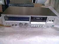 1970's JVC metal tape deck - bargain - £5
