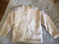 Girl's Burberry jumper Size 2-3years