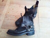Ladies Harley Davidson Boots size 6