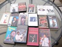 VHS VIDEO TAPES - VARIOUS ARTISTS - JOB LOT - £10 ONO