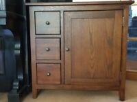 Grove Acacia Brown Cupboard (John Lewis range)