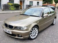 bmw 3 series 318 ci manual 2005 petrol very rare example excellent condition
