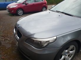 BMW 5 series 09 plate