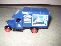 Vintage Days Gone Toy Blue Delivery Van