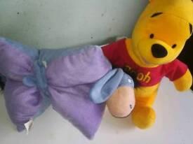 Large Winnie the Pooh, Cushion Eeyore