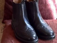 Brand new size 7 dealer boots. Also soled and heeled. Cost £75 bargain at £15.