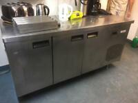 Commercial 3 door fridge ,spare or repair