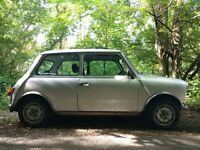 1985 Austin Mini, Mini 25, 25th Anniversary edition, with extras, running reconditioned, used daily