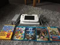 Wii U 8gb and games