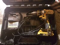 18v Dewalt Drill With Battery, charger and box