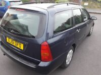 Ford Focus Estate, 2 previous owners, 82,125 miles, MOT till 10/11/18