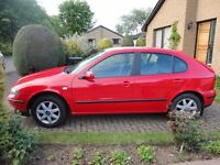 2003 Seat Leon S 16v 5 door - MOT Aug'17 - AC & Alloys £850 ono