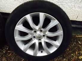 Range Rover Sport 20 inch wheels and tyres