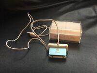 Blue iPod shuffle