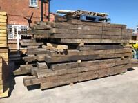 🌩Used Wooden Railway Sleepers