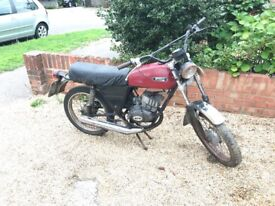 Fantic GT50 Moped 1977 (Barn find) Engine runs. Have V5. One of the fastest mopeds of its day..60MPH