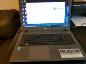 Windows 10 like new Acer Intel i3 fast ssd laptop with 8gb ram and box