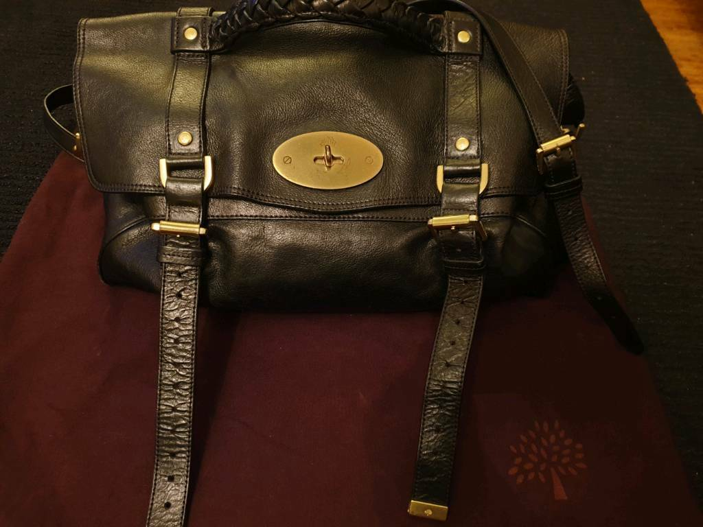 c044f8aa7f Mulberry Alexa oversized satchel bag