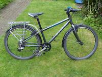 Islabike Beinn 24 Child's bike with mudguards, bike rack and kickstand