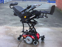 Invacare Modulite. Electric Seat Lift, Tilt, Recline, Legrest. FREE Delivery. Powered Wheelchair.