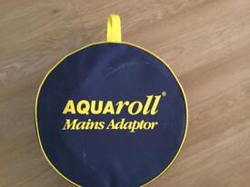 Aquaroll mains adapter kit